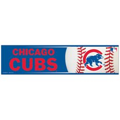 Chicago Cubs Bumper Sticker $2.49