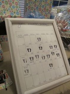 Baby shower idea--guest predictions. I love this! Should have done this one for our