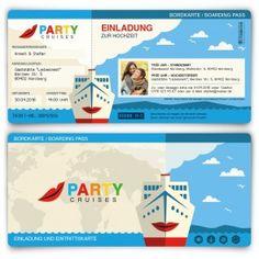 Details Zu Einladungskarte Zur Hochzeit   Vintage   Used Look    Eintrittskarte   Ticket | Wedding Stuff And Weddings