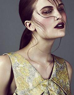 Alla Kostromichova. Vogue Russia. by Emma Tempest.