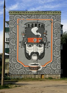 Mural by Kislow