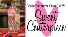 Celebrate Valentine's Day with a romantic night in. We'll show you how to set the mood with this DIY centerpiece.