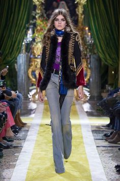 Women's Autumn Winter Collection Fashion Show   -  Roberto Cavalli United States