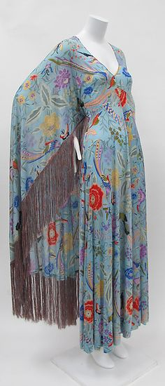 Synthetic Dress,. Early 1970s. Designer: Missoni (Italian, founded 1953)