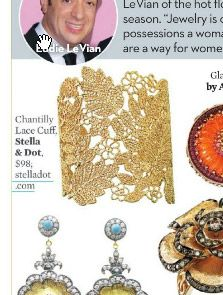 Stella & Dot - Chantilly Lace Cuff as featured in OK! magazine