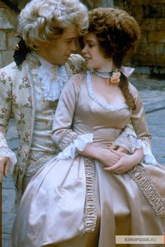 Amadeus - one of my favorite period pieces - Tom Hulce is a genius in this film!