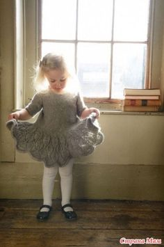 Maddie-kids-dress-purl_alpaca_designs_knitting_pattern - Knitting Projects for Kids Knitting For Kids, Baby Knitting Patterns, Crochet For Kids, Baby Patterns, Free Knitting, Knitting Projects, Knit Crochet, Knitting Wool, Wool Yarn