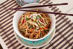 Make Anytime Noodles With Stir-Fried Vegetables