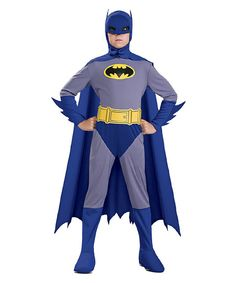 Vintage Batman Dress-Up Set - Boys