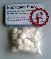Snowman Poop Poem