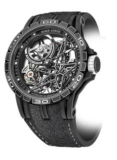 Roger Dubuis Excalibur Spider Pirelli Automatic Skeleton - angle