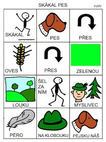 Pro Šíšu: Skakal pes.. Pictogram, Montessori, Cool Kids, Activities For Kids, Preschool, Language, Education, Logos, Children