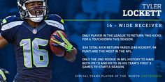 """This was back on Oct 1st! ...Seahawks Rookie Wide Receiver Tyler Lockett Will """"Always Cherish"""" NFC Special Teams Player of the Month Honor 