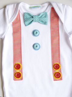 Cute boy onesie idea