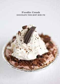 Girl Scout cookies in a pie   foodiecrush.com