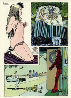 Erotic drawings and comics