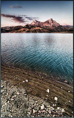 Landscape, Pantano de Zahara de la Sierra