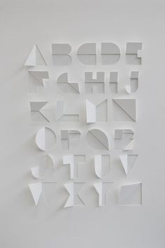 Folded Typography