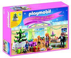 Playmobil – 5496 – Calendrier De L'avent – Réveillon De Noël
