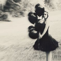 Items similar to black balloon I on Etsy Balloons Galore, Black Balloons, Ethereal Beauty, Fashion Art, Tulle, Culture, Trending Outfits, Photography, Etsy