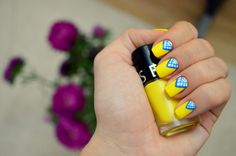 Bright Yellow Nails