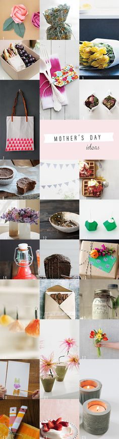 25 DIY Mother's Day Ideas