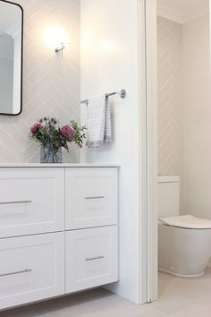 Our beautiful Aubin Grove renovation featuring a cavity sliding door into the WC area of this bathroom renovation. Bathroom Renovations Perth, Bathroom Renos, Laundry In Bathroom, Budget Bathroom, Bathroom Flooring, Small Bathroom, Bathroom Ideas, Modern Bathroom, Master Bathroom