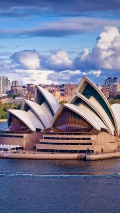 Sydney Opera House, NSW, Australia was inagurated in 1973 and has since become a Sydney Harbour icon along with the Sydney Harbour Bridge. It's made up of vaulted 'shells' housing two main performance halls and a restaurant. Hands up if you've seen it for yourself!