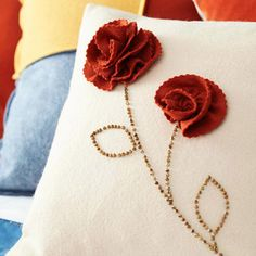 It's the pillow I like with instructions for the awesome flower. love!