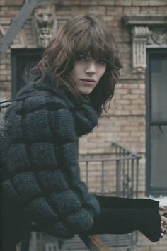 Freja Beha #old picture #chanel