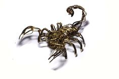 Steampunk Scorpion Robot by CatherinetteRings.deviantart.com on @deviantART