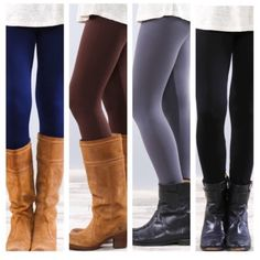 • Fleece Leggings • Solid color fleece leggings. Super soft and very stretchy! Looks like a regular sleek legging on the outside, but inside is warm fleece for those cold days. Great with tunics and long sweaters. One Size Fits Most  🔸65% polyester, 20% cotton, 15% spandex.   •no trades •10% off all bundles  ↓Follow me on Instagram ↓         @ love.jen.marie Jennifer's Chic Boutique Pants Leggings
