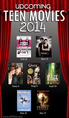 This is going to be a great year for teen book adaptations! Anyone else agree?