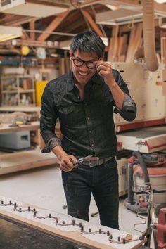 Meet the Maker: Derek Chen - I love environmental portraits done well.