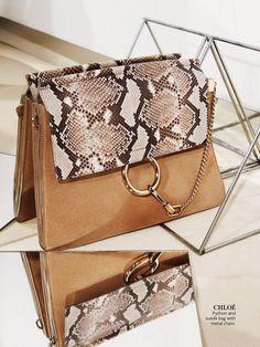 Chloe Python bag