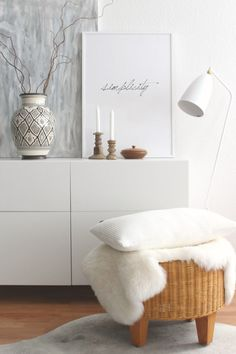 The IKEA BESTA: 9 storage space ideas with the all-rounder - Wohnzimmer - Wohnzimmer Couch Furniture, White Furniture, Modern Furniture, Furniture Movers, Furniture Stores, Purple Rooms, White Rooms, Living Spaces, Living Room