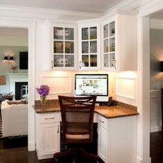rooms corner desk! Love it!