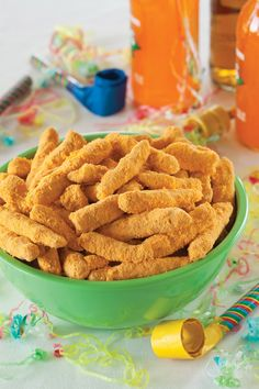 Homemade Cheetos recipe for guiltless, cheesy, crunchy snacking!