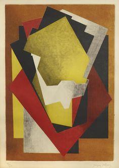 Jacques Villon (French, 1875-1963); Composition ;