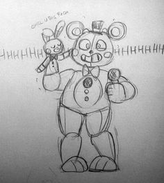 Funtime Freddy and Bon-Bon Fnaf Security Guards, Spooky Games, Fnaf Sl, Cute Disney Drawings, Fnaf Sister Location, Fnaf Characters, Art Poses, Art Reference Poses, Five Nights At Freddy's