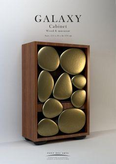 Galaxy Cabinet - Pont des Arts - Designer Monzer Hammoud - Paris -