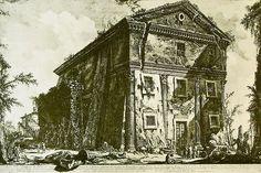 Giovan Battista Piranesi Tempio di Cerere e Faustina