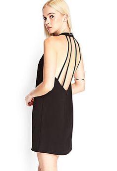 Cutout Back Shift Dress | FOREVER21 - 2000087679