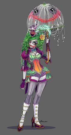 Joker and Harley Genderswap