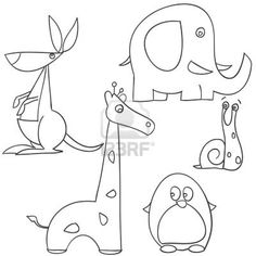 how to draw animal doodles