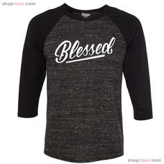 Blessed Baseball   Christian Tee Shirt   Clothes