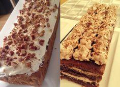 Carrot cake & Truffle cake