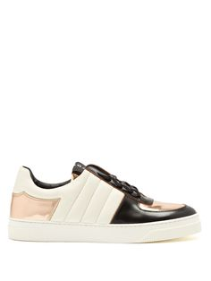 Proenza Schouler Colour-block low-top leather trainers