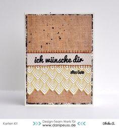 Karte von Ulrike mit dem September Kartenkit AddOn von www.danipeuss.de #danipeuss #dpSeptemberkit15 #kartenkit
