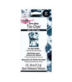 I Love To Create-Tulip One Step Fashion Dye Refill. Perfect for adding a little color to your life! This package contains three refill dissolvable fashion dye packets. Comes in a variety of colors. Diy Tie Dye Socks, Diy Tie Dye Shirts, Azul Tie Dye, Tulip Tie Dye, First Aid Treatment, Tulip Colors, Colours, Tie Dye Kit, Tie Dye Crafts